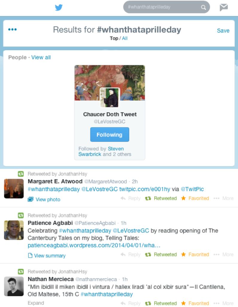 #WhanThatAprille trending on twitter