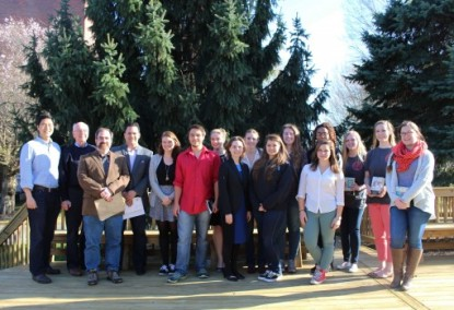 WATD Washington College event group photo