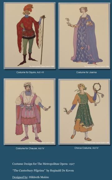 costume design canterbury pilgrims
